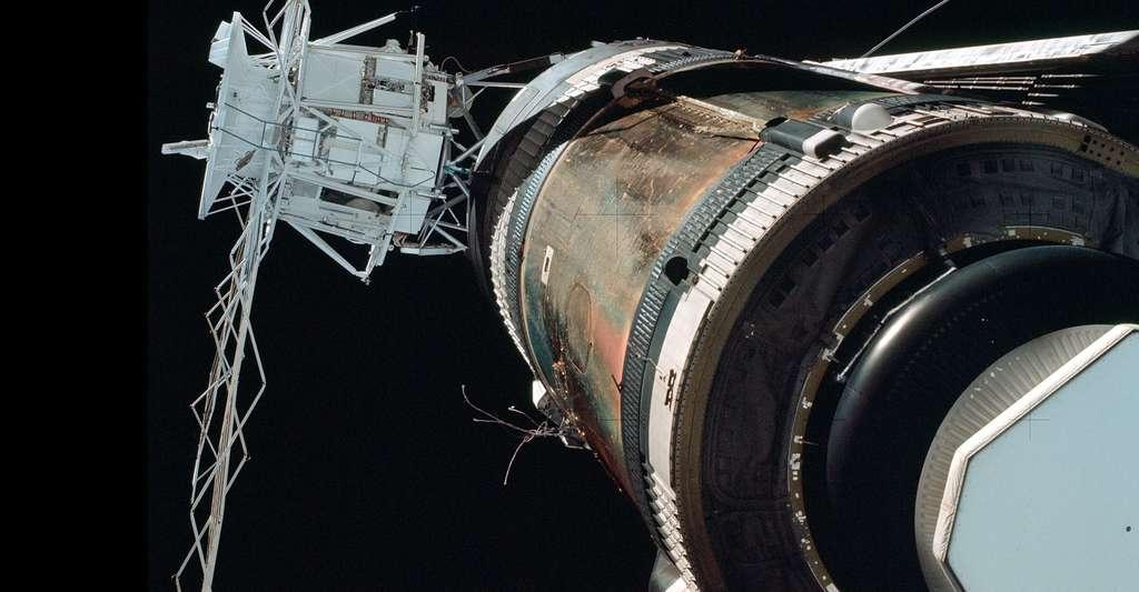 Vue de Skylab 1 Station orbitale. © NASA -Domaine public