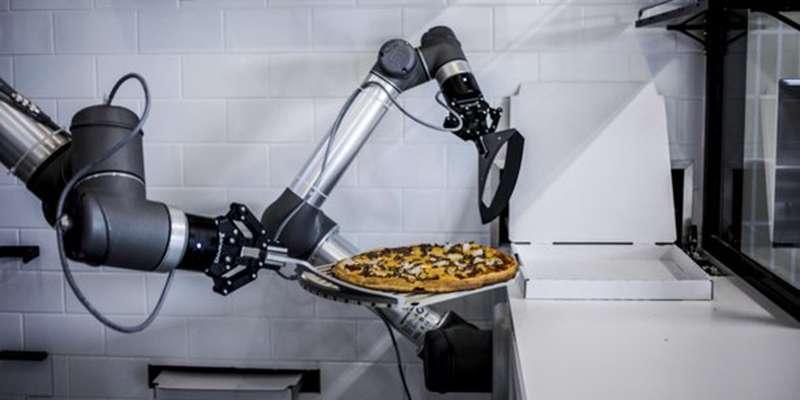 Le robot de Pazzi. © Courtesy of Ekim, Pazzi