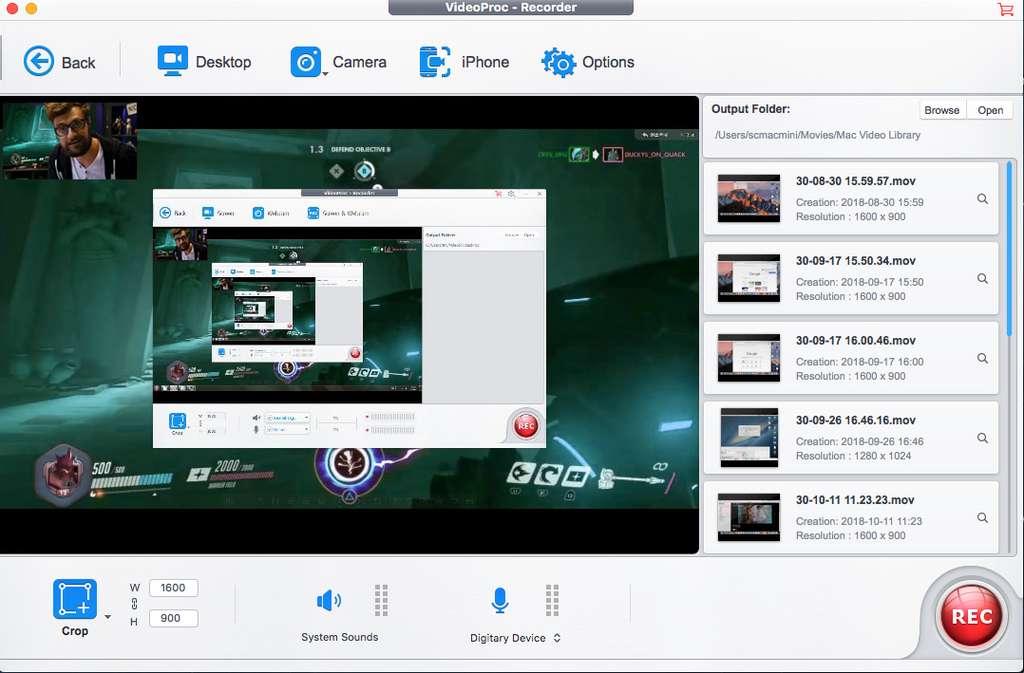 VideoProc, le logiciel pour devenir un pro de YouTube. © VideoProc