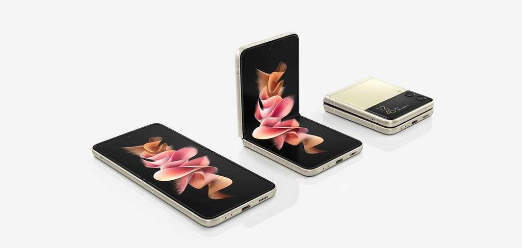 Z Flip3, le dernier-né des smartphones Samsung. © Samsung