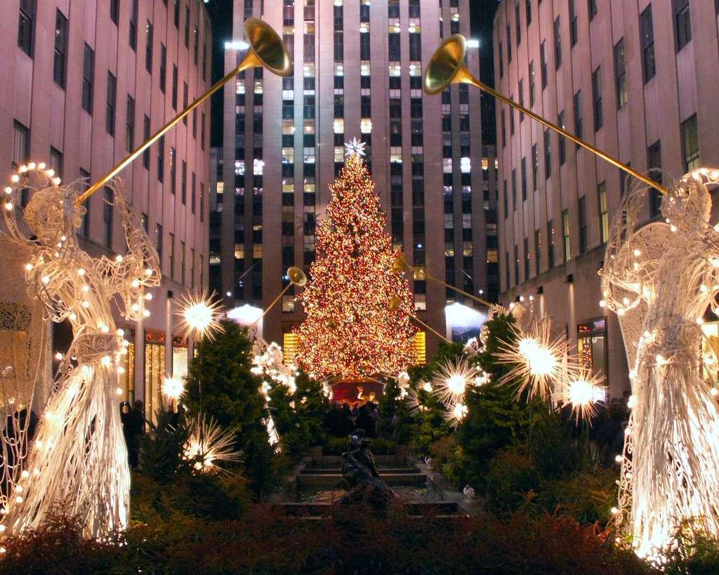 Les illuminations de Noël à New York
