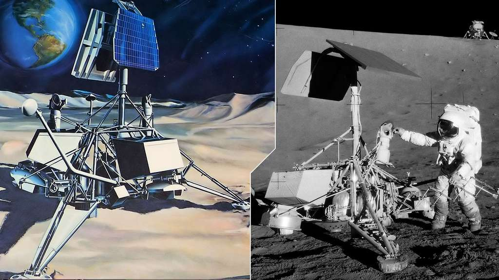 Le programme lunaire Surveyor