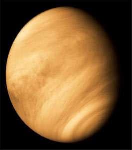 Venus vue par Mariner 10 en février 1974