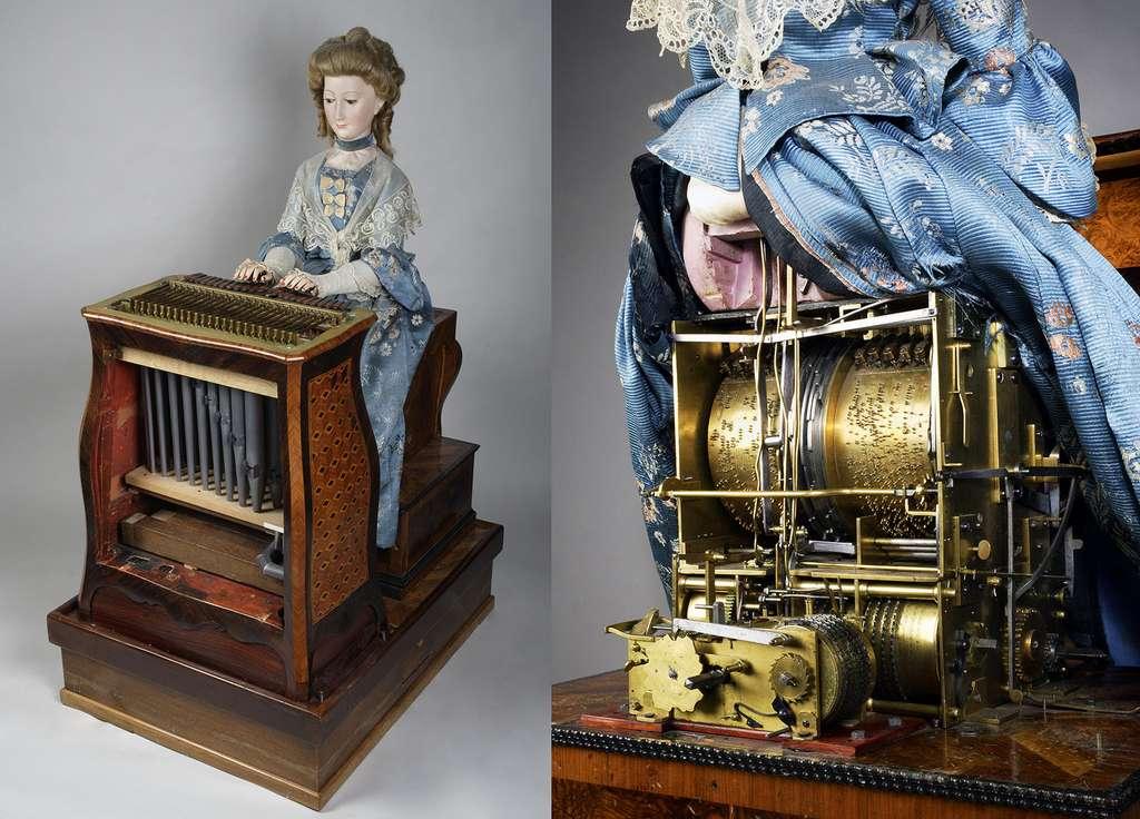 La musicienne des Jaquet-Droz et Leschot. © Musée de Neuchâtel