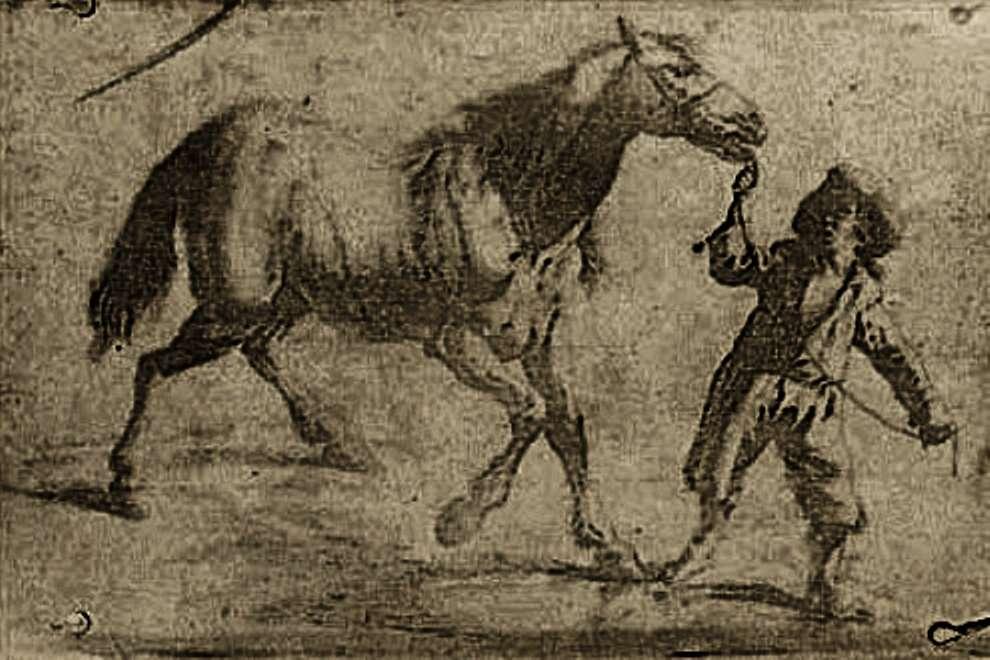 La première héliogravure faite par Joseph Niépce, en 1825, connue au monde. Bibliothèque nationale de France, Wikimedia Commons, domaine public