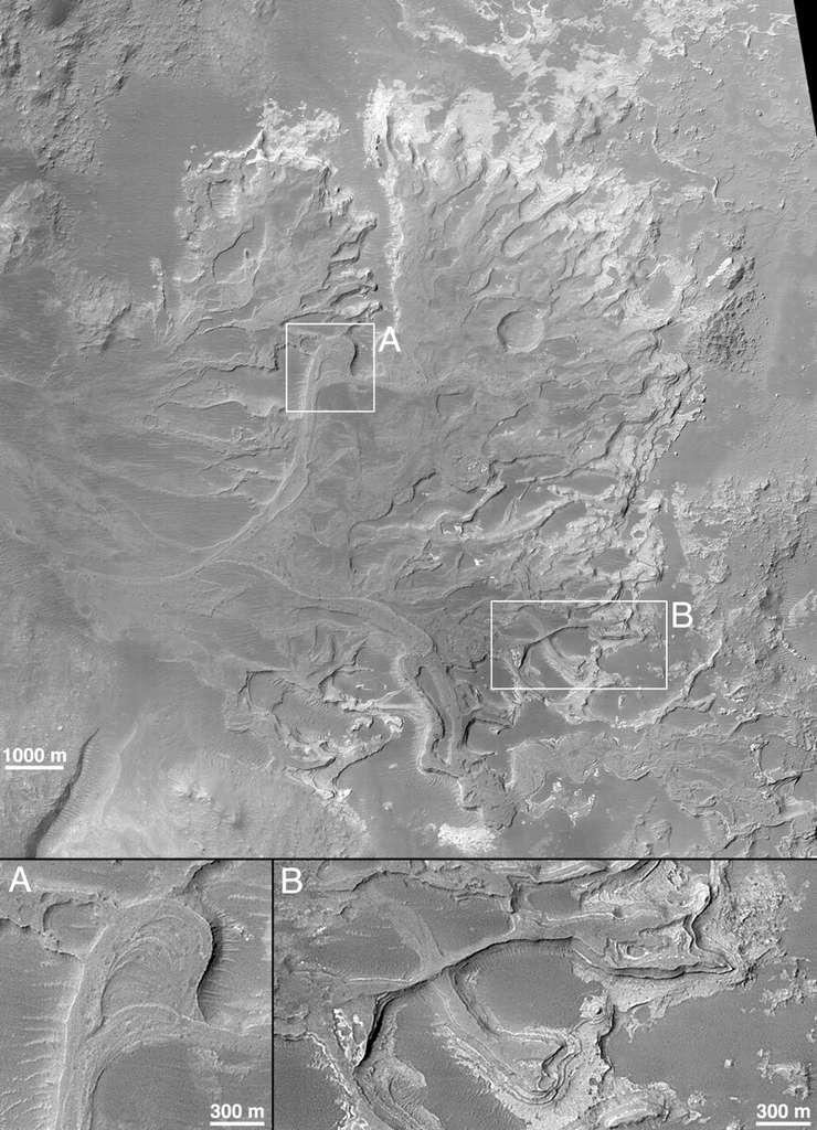 Delta sur Mars