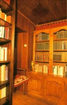 Bibliothèque anglaise © Photo Dominique Felga