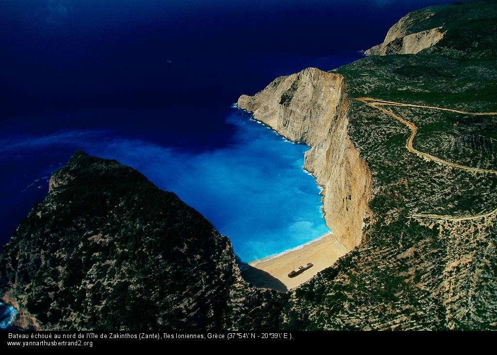 Ile de Zakinthos (Zante), îles Ioniennes Grèce