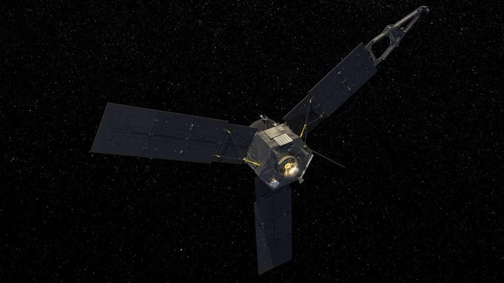 Au plus loin du Soleil, la distance maximale de Juno sera d'environ 832 millions de kilomètres. © Nasa, JPL