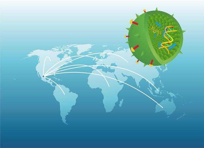 La pandémie est une épidémie à l'échelle mondiale. © lewebpedagogique.com