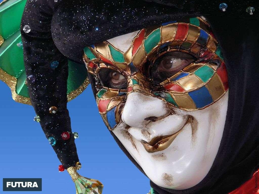Carnaval de Venise l'arlequin