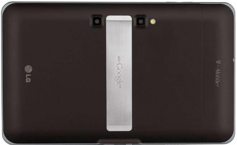 Les deux yeux d'une tablette 3D vous regardent... © LG Electronics
