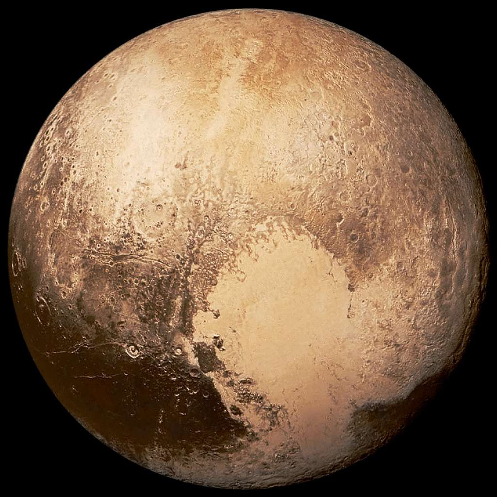 Depuis quelques années, Pluton n'est plus considérée comme une planète et il est officiellement admis que notre Système solaire ne compte que huit planètes. Mais cela pourrait changer… © Nasa