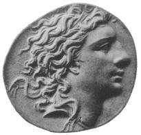 Pièce à l'effigie de Mithridate VI. Selon la légende, ce roi antique absorbait de petites doses de poisons afin de s'immuniser. © Wikimedia Commons, DP