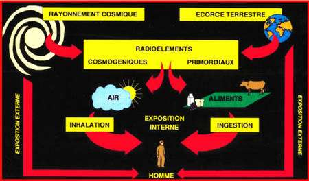 Sources de radioactivité © A.M. Noureddine CNRS-IRES Strasbourg
