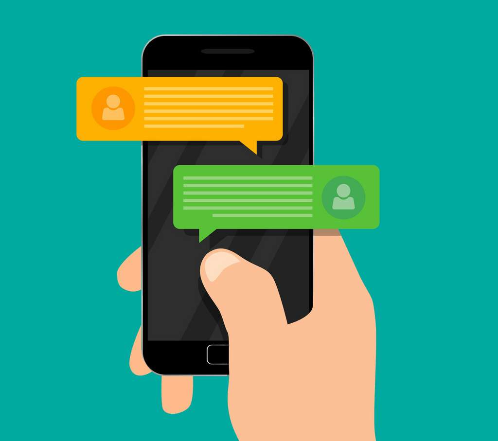 Désactiver ses notifications diminue la tentation de consulter son smartphone en permanence. © nazarkru, Fotolia