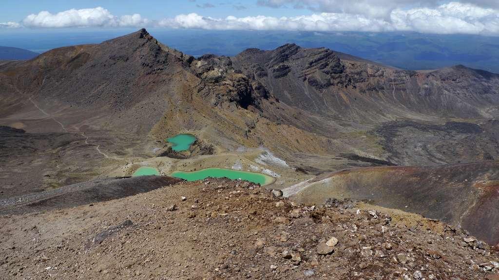 Emerald Lakes, Tongariro National Park. © Bruno Cédat
