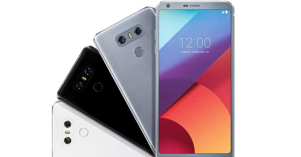 Le G6 de LG inaugure un format d'écran 18:9 inédit sur smartphone. © LG