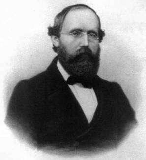 Bernhard Riemann. (Cliquer sur l'image pour l'agrandir.) Crédit : Department of Physics, Indiana University