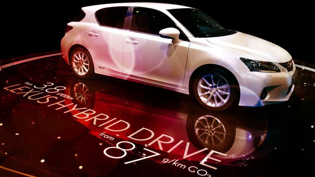 La Lexus CT 200 h de Toyota