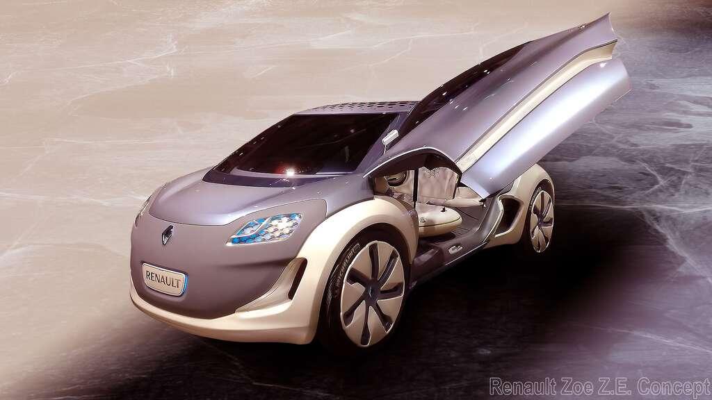 La Renault Zoe Z.E. Concept