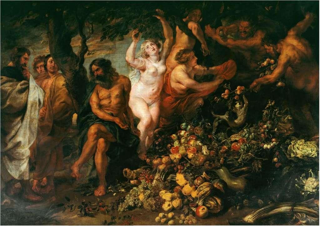 Pythagore est le premier à avoir défini le régime végétarien comme on le connaît. Toile de Pierre Paul Rubens. © Pierre Paul Rubens, Wikimedia Commons, Domaine Public