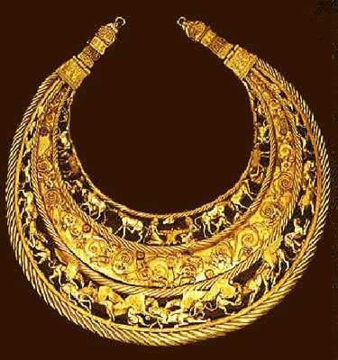 Scythian pectoral.