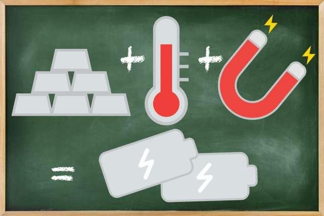 Pour être intéressant pour des applications à grande échelle, le ZT d'un matériau thermoélectrique – son efficacité – doit être d'au moins 3. Le ZT calculé par les chercheurs du Massachusetts Institute of Technology (MIT, États-Unis) pour le séléniure d'étain-plomb soumis à un champ magnétique de 30 teslas serait de 10! © Chelsea Turner, MIT