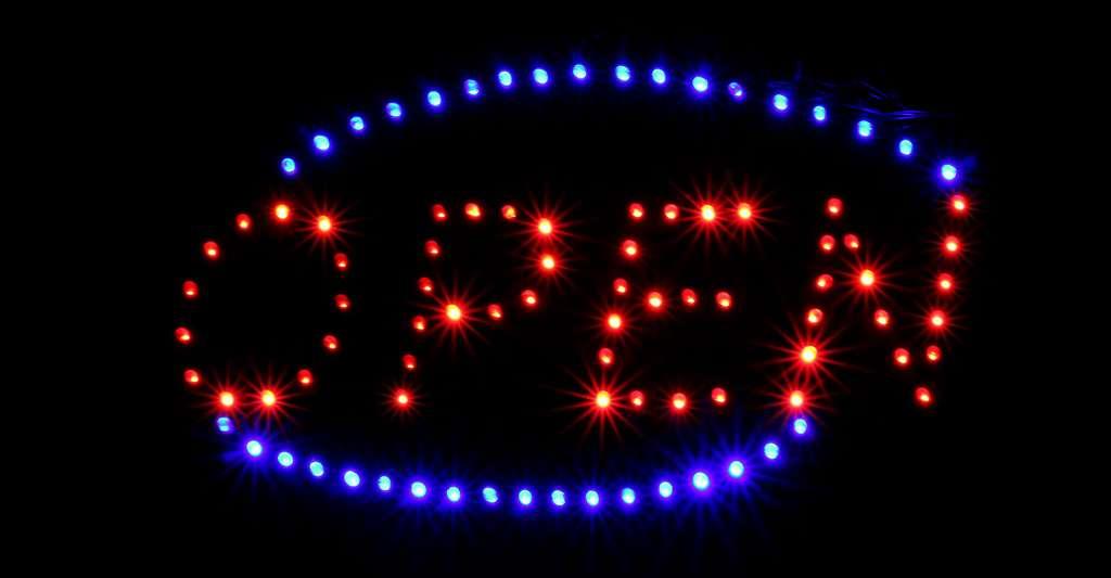 Open fait de LED. © Michael E. CC BY-NC 2.0