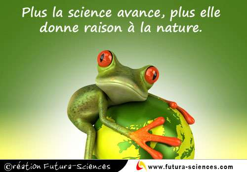Plus la science avance
