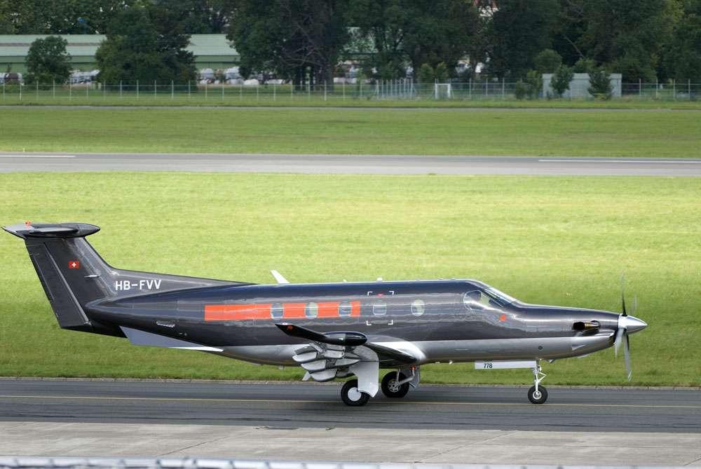 Le Pilatus PC-12