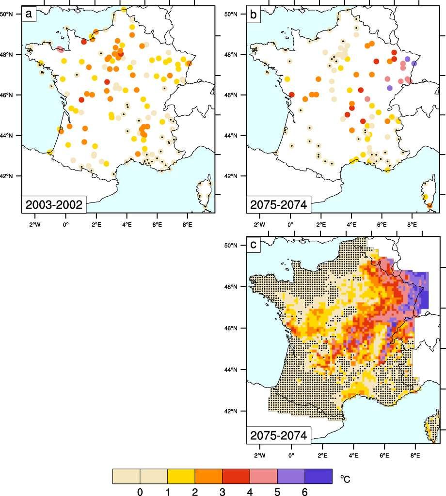 Carte Climat Europe 2050.Des Records De Temperature De Plus De 50 C En France