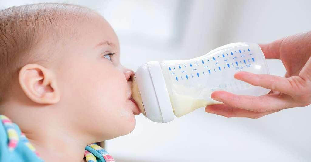 Bisphénol A dans les biberons pour enfants. © John-Alex - Shutterstock