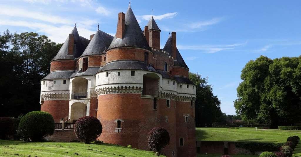 Château de Rambures, Picardie. © Peyot, Wikimedia, CC by-sa 4.0