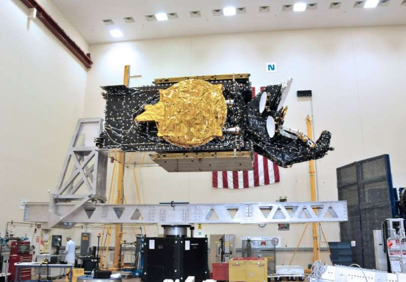 Le satellite Amazonas-3 d'Hispasat. Huitième opérateur mondial, Hispasat est leader sur le marché de la diffusion des chaînes en langues espagnole et portugaise. © SSL