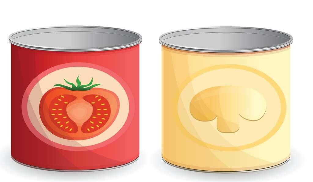 Les légumes en conserve nécessitent plus d'énergie et d'emballage que les légumes frais. © nsit0108, Fotolia