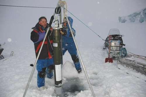 Sonde océanique polaire © Eric Brossier – Vagabond