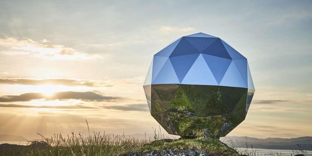 Comment s'appelle un polygone à 65 faces ? Une fausse étoile. © Rocket Lab