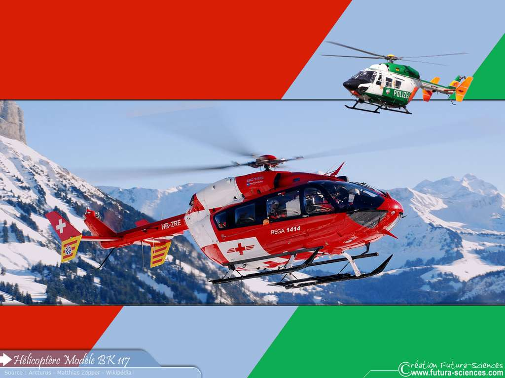 Hélicoptère BK 117
