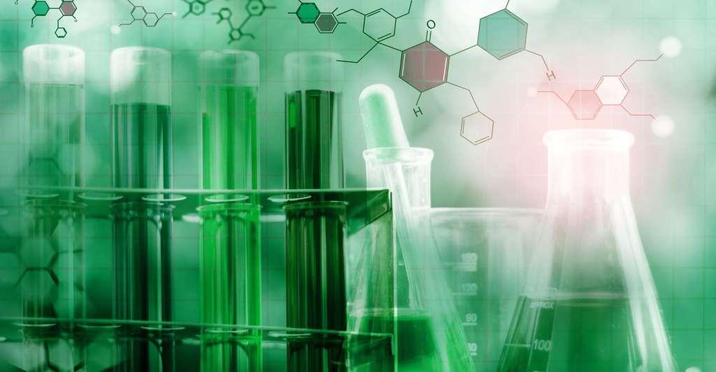 Comment s'est déroulée l'apparition des premières cellules ? Ici, une expérience de bioluminescence en laboratoire. © Live and Learn, Shutterstock