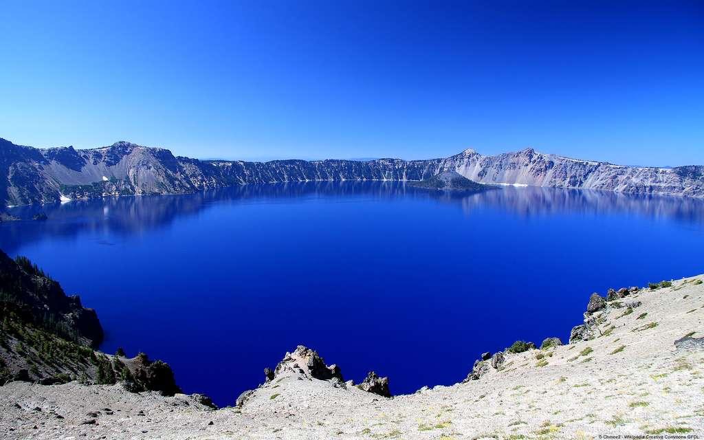 Le parc national de Crater Lake, dans l'Oregon