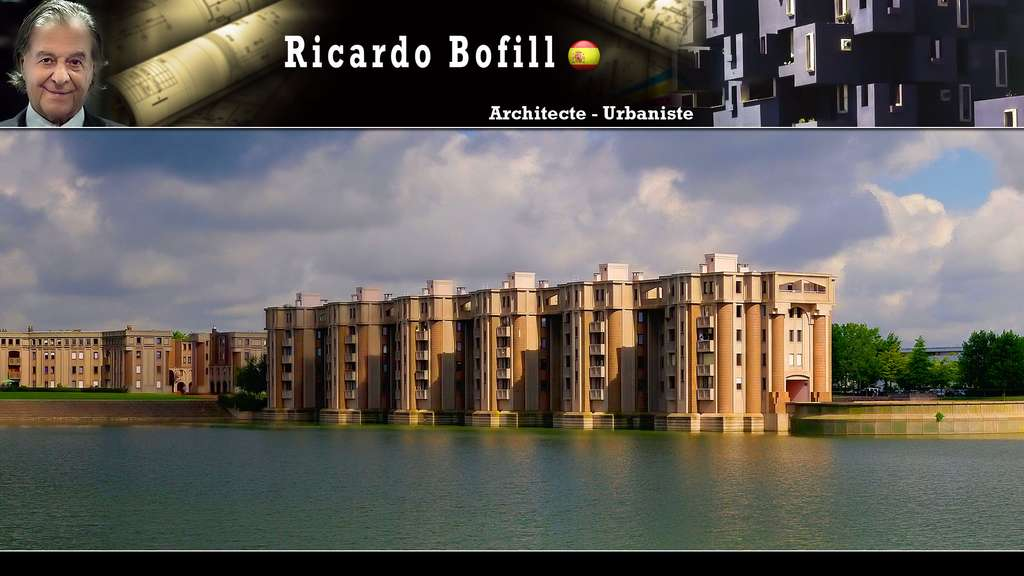 Le Viaduc et les Arcades du Lac de la Sourderie (Ricardo Bofill)