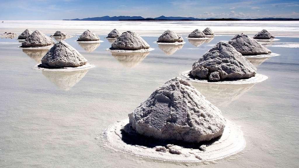 Un sel à l'effet miroir