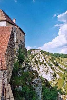 Fort de Joux. © Calips, licence Creative Commons Paternité – Partage des conditions initiales à l'identique 1.0 générique
