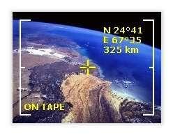 Le Pakistan sous l'objectif du satellite espion Keyhole 9.