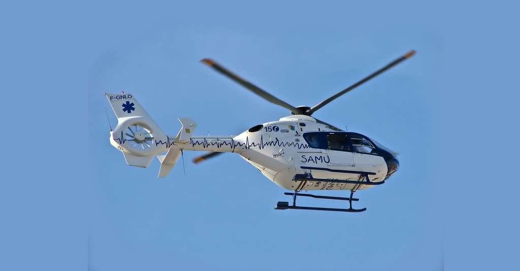 Hélicoptère du SAMU. © Alexandre Prévot - CC BY-SA 2.0