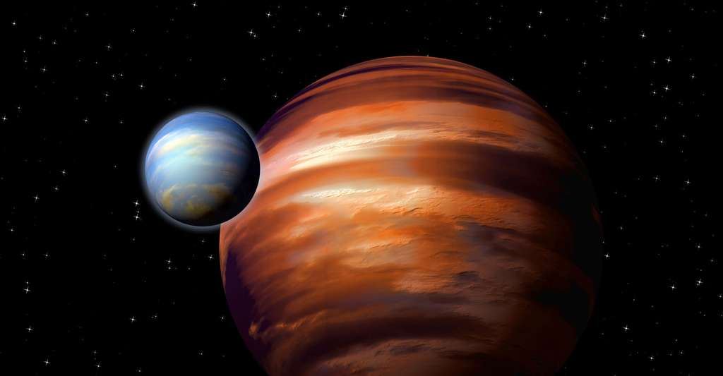 Vue d'artiste de planètes. © Dmitri Gruzdev, Shutterstock