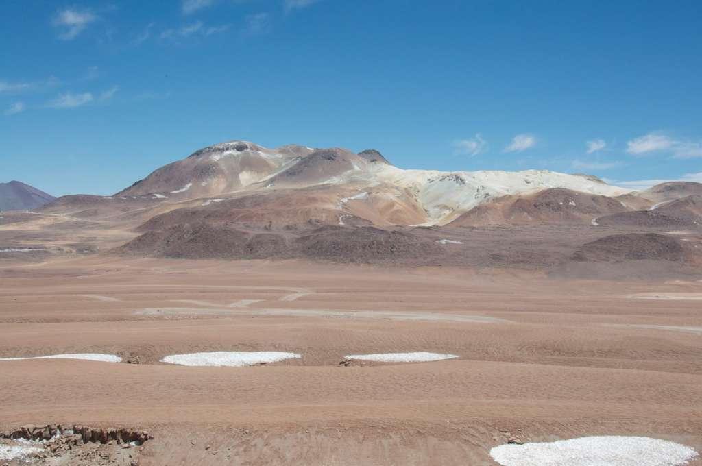 Vue du désert depuis Alma