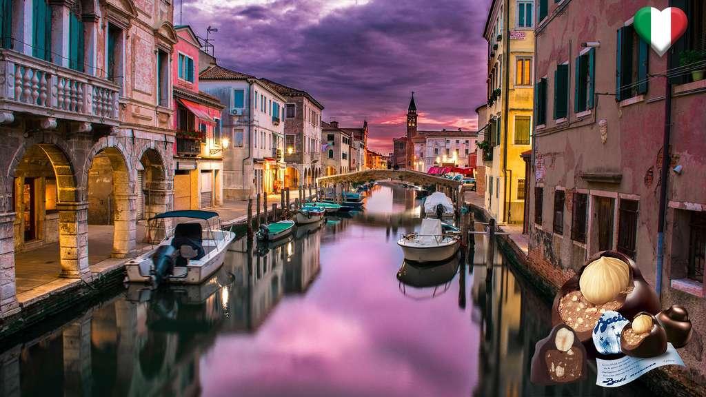 En Italie, du chocolat enrobé de mots d'amour