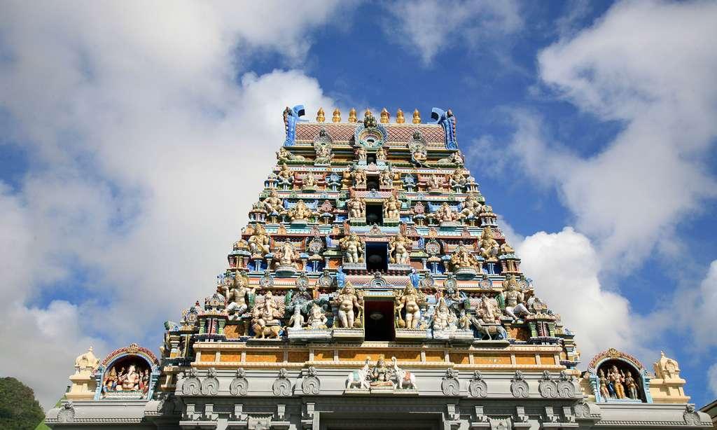 Temple tamoul de Victoria, aux Seychelles